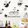 """สติ๊กเกอร์ติดผนังตกแต่งห้องครัว """"Best Sweet Food"""" ขนาดความสูง 40 cm กว้าง 30 cm"""
