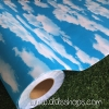 "Wallpaper Sticker วอลล์เปเปอร์แบบมีกาวในตัว ""ลายท้องฟ้าและก้อนเมฆ"" หน้ากว้าง 1.22m ตัดขายตามความยาว เมตรละ 250 บาท"