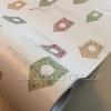 "Wallpaper Sticker วอลล์เปเปอร์แบบมีกาวในตัว ""ลายบ้านนกสีพาสเทล"" หน้ากว้าง 95cm (ขั้นต่ำ 2m คละลายได้) ตัดขายตามความยาว เมตรละ 210 บาท"