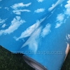 "Wallpaper Sticker วอลล์เปเปอร์แบบมีกาวในตัว ""ท้องฟ้า 2"" หน้ากว้าง 1.22m ตัดขายตามความยาว เมตรละ 250 บาท"