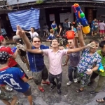 Best Songkran Thailand Video ever Shooting By GoPro