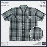 เสื้อลายสก๊อต -7 Size 2XL , 3XL