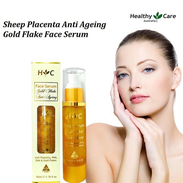 Healthy Care Gold Flake Anti-Ageing serum 50ml.เซรั่ม ลดกระฝ้า จากออสเตรเลีย