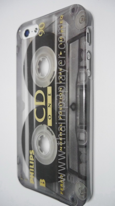 เคสมือถือ IPhone 5,5s เทปคลาสเซ็ท Tape Cassette