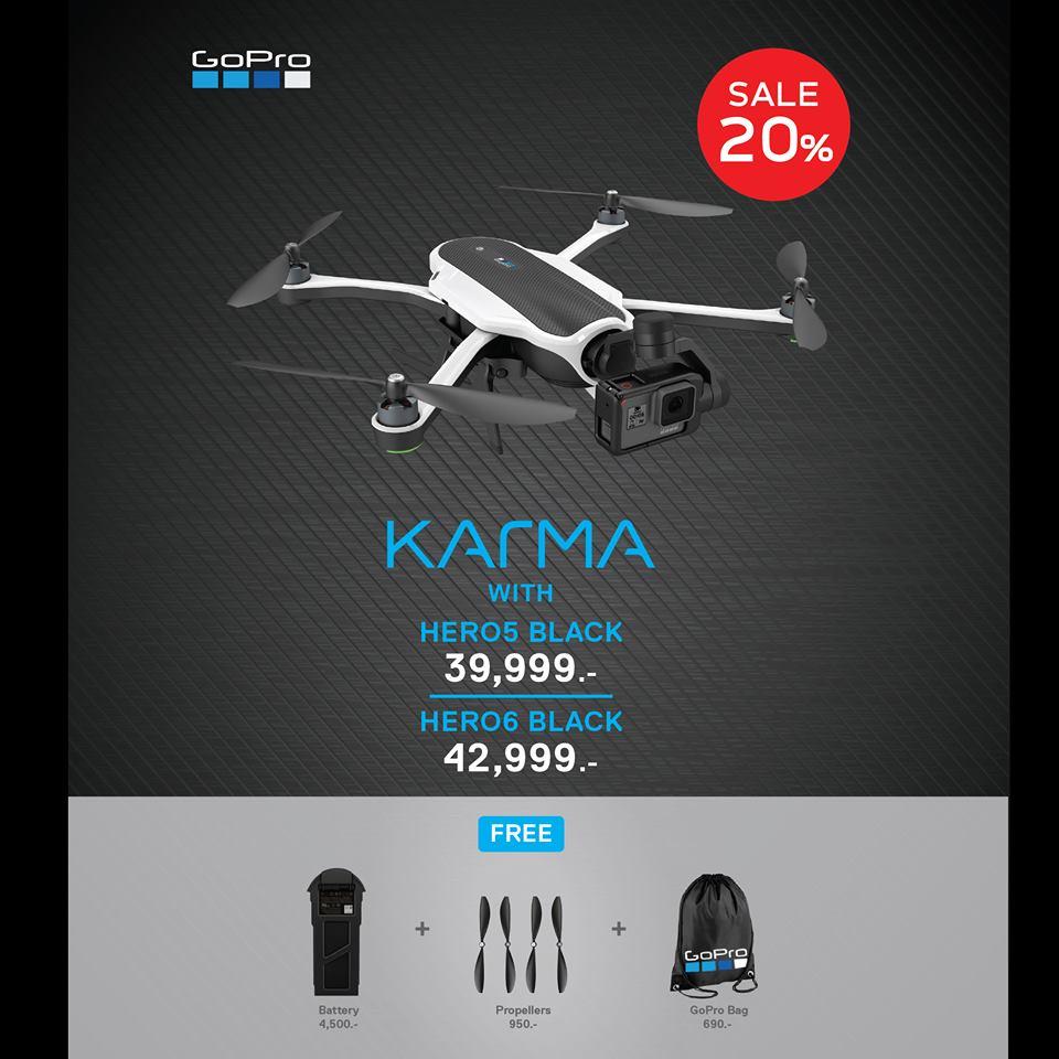 Karma Drone (HERO6 Black Included)