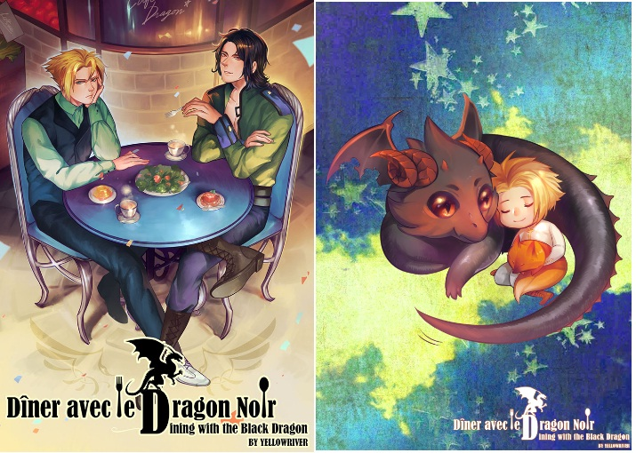 Dîner avec le Dragon Noir (Dining with the Black Dragon) by YELLOWRIVER