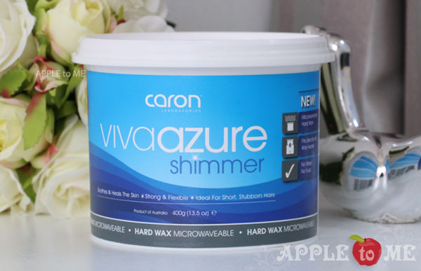 ฮาร์ด แว็กซ์ Viva Azure Shimmer Hard Wax 400g