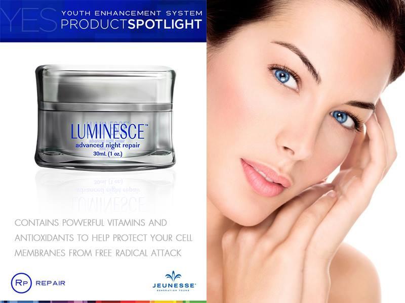 Luminesce Advanced Night Repair เจอเนสส์ ลูมิเนสส์ แอดวานซ์ ไนท์ รีแพร์