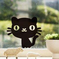 """สติ๊กเกอร์ติดปลั๊กไฟ """"Cute Cat"""" ขนาดซองบรรจุ 15 x 12 cm"""