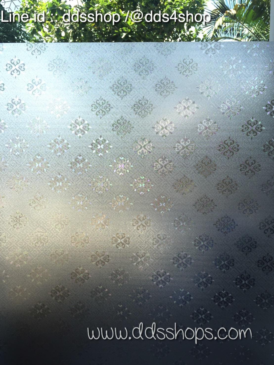 """PVC สูญญากาศติดกระจก """"Luise Style"""" หน้ากว้าง 90 cm ราคาต่อเมตร 270 บาท"""