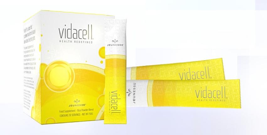 Vidacell วิดาเซล ผลิตภัณฑ์เครื่องดื่ม Jeunesse Global เจอเนสส์