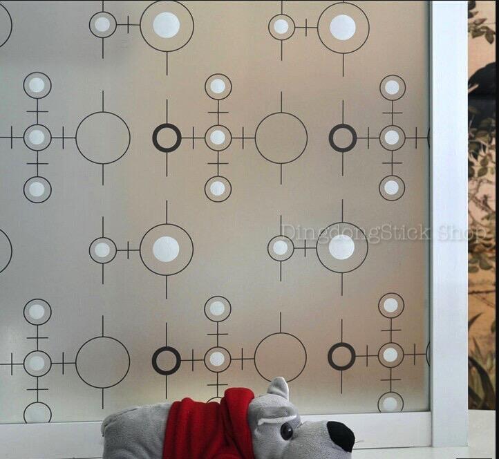 """สติ๊กเกอร์ฝ้าติดกระจกแบบมีกาว """"Black Modern Line"""" หน้ากว้าง 90 cm ตัดแบ่งขายเมตรละ 189 บาท (ขั้นต่ำ 3m)"""