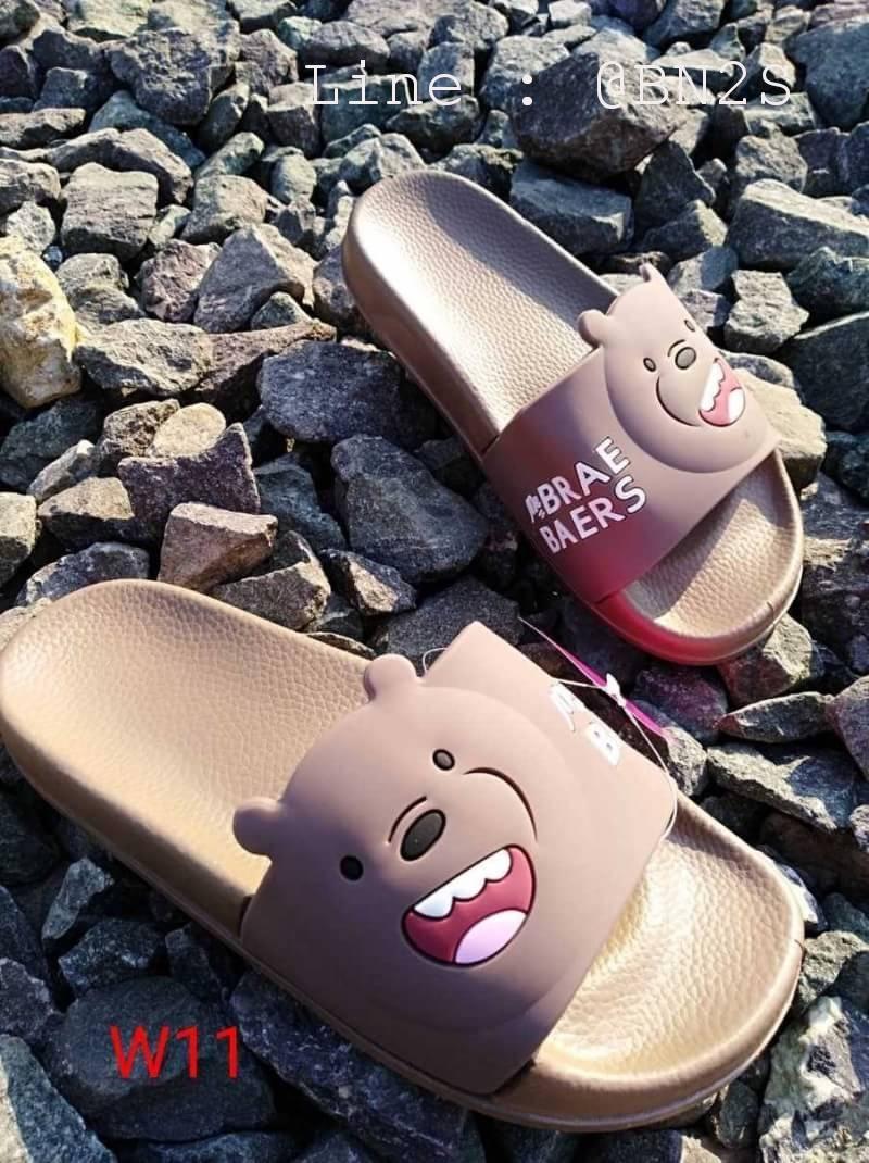 รองเท้า BARE BEARS แบบสวม หมี