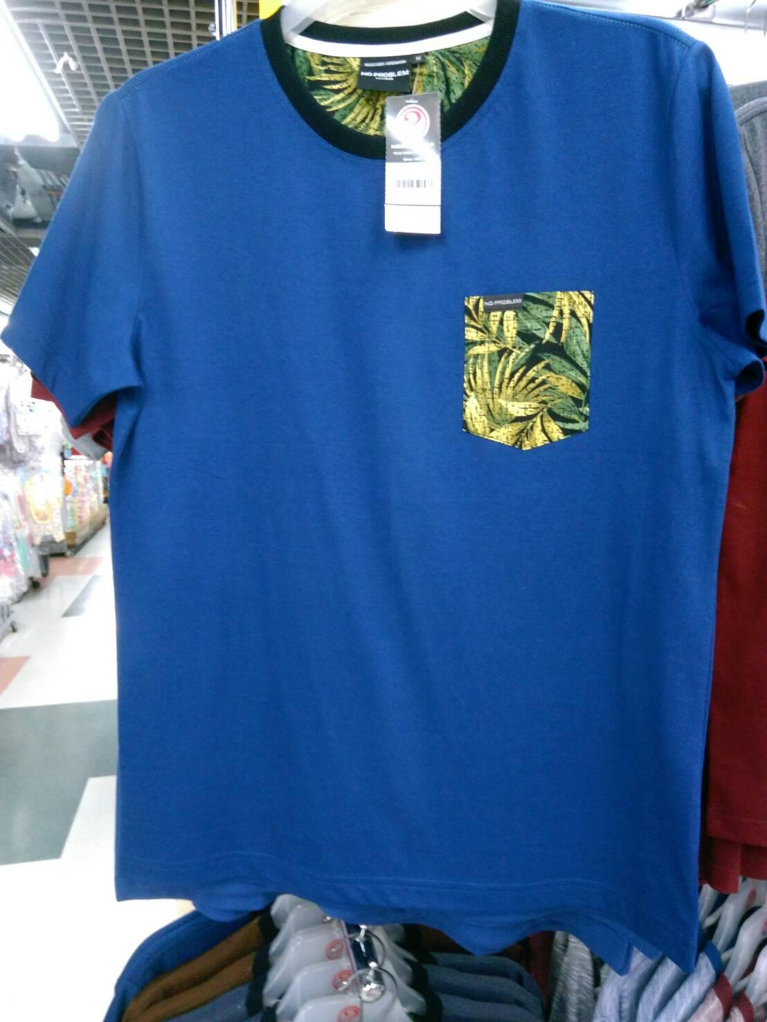 เสื้อยืดคอกลม สำหรับ ผู้ชายอ้วน 2XL 3XL 4XL รหัส NR61008