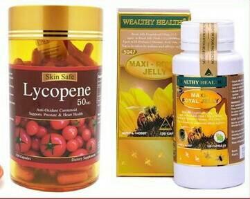นมผึ้งmaxi 30 เม็ด +สารสกัดมะเขือเทศ 30 เม็ด ทานบำรุงผิวพรรณกระจ่างใส ออร่า ลดฝ้า ลดกระ ลดจุดด่างดำ ปรับสมดุลฮอร์โมน ลดเรืนริ้วรอย และสุขภาพดี