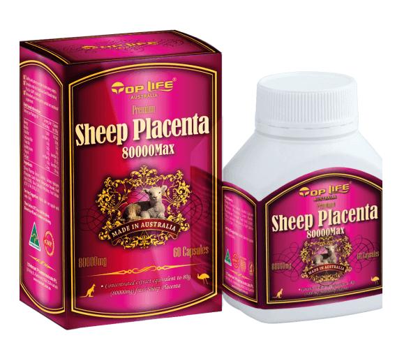 Premium Sheep Placenta Toplife 80000 MG 60 Capsules สารสกัดจากรกแกะที่เข้มข้นที่สุดในขณะนี้ ได้รับรางวัลระดับโลก จากออสเตรเลีย รกแกะบำรุงผิวพรรณหน้าเด้ง กระจ่างใส เน้นลดฝ้ากระ จุดด่างดำ