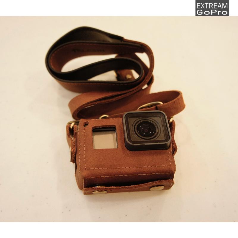 Premium leather case for GoPro Hero5 Hero6
