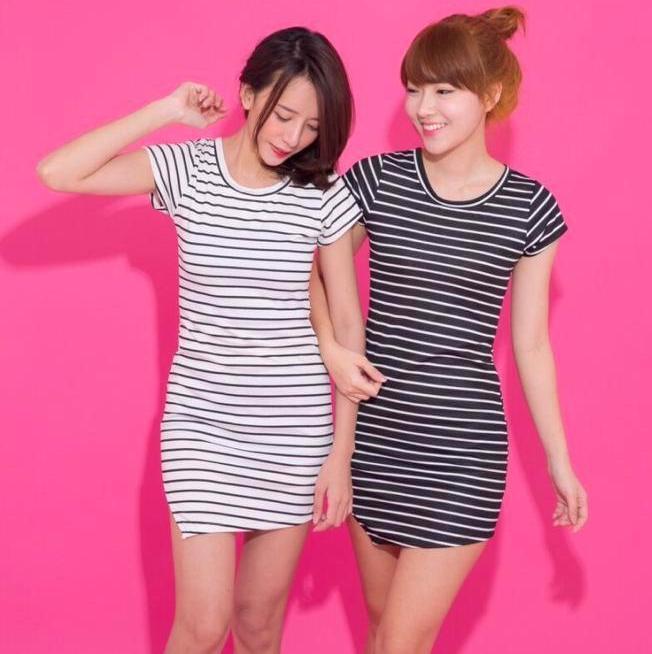 Sexy Stripe dress &#x1F349