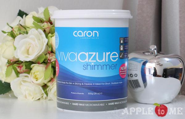 ฮาร์ด แว็กซ์ Viva Azure Shimmer Hard Wax 800g