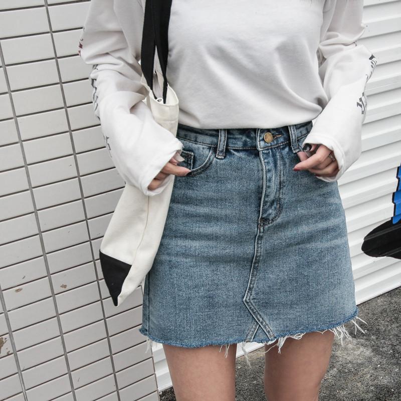 กระโปรงยีนส์สั้น Chicc Skirt 003