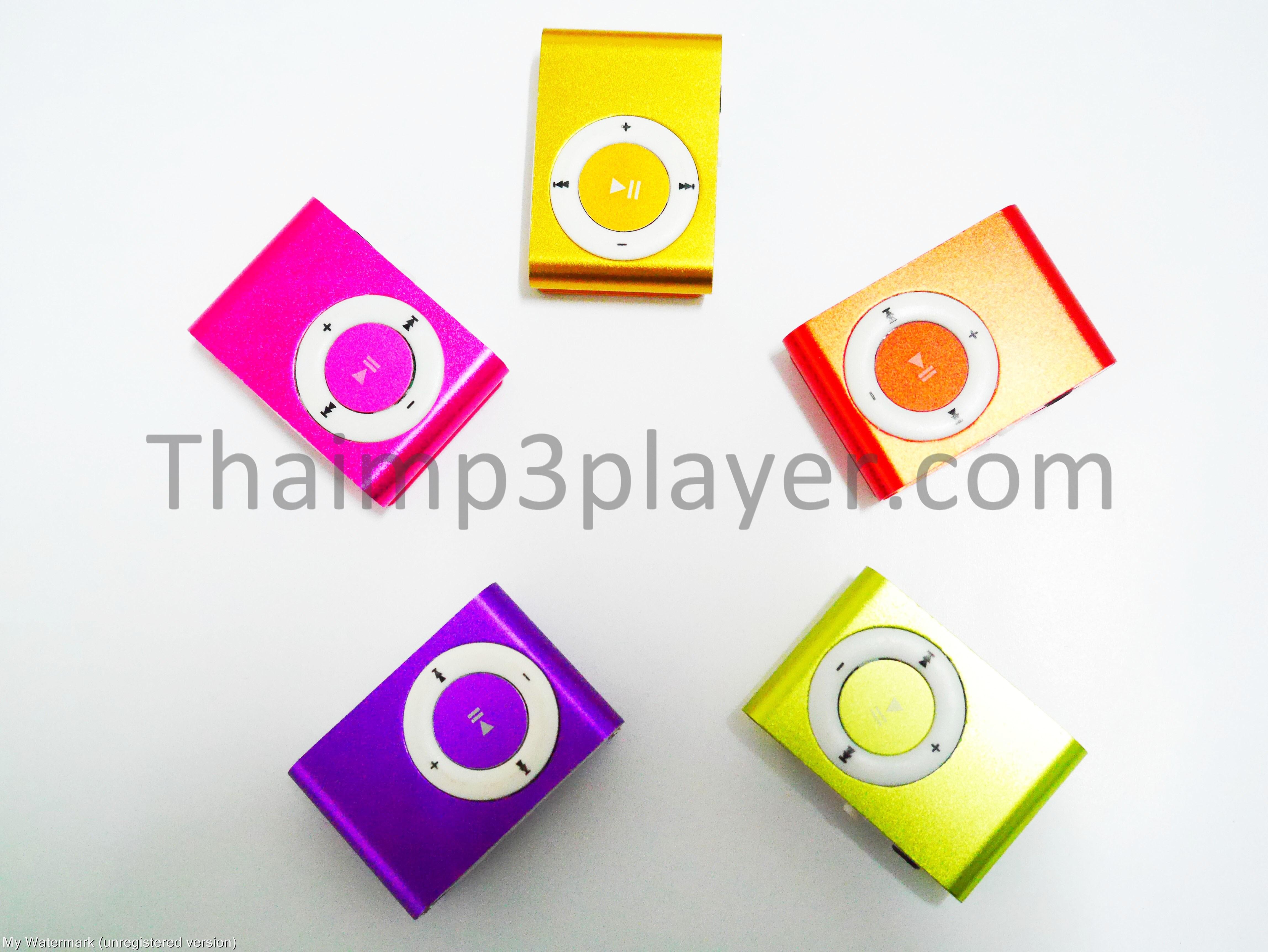 เครื่องเล่นmp3 ขนาดพกพา (Mini MP3Player)