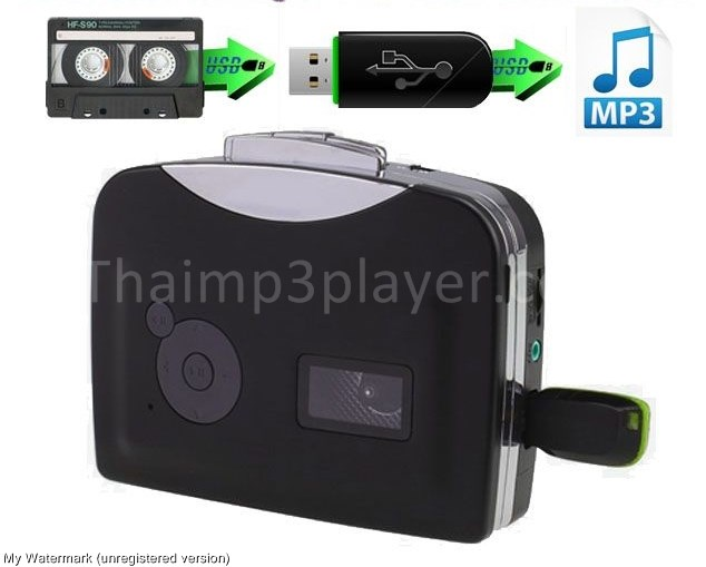 เครื่องเล่นเทปแปลงเป็น MP3 รุ่น USB ไม่ต้องใช้คอม (EZ-230)