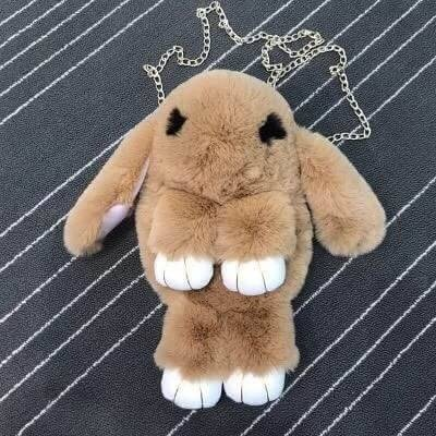 กระเป๋าเป้ น้องกระต่าย ขนปุย น่ารักมากคะ