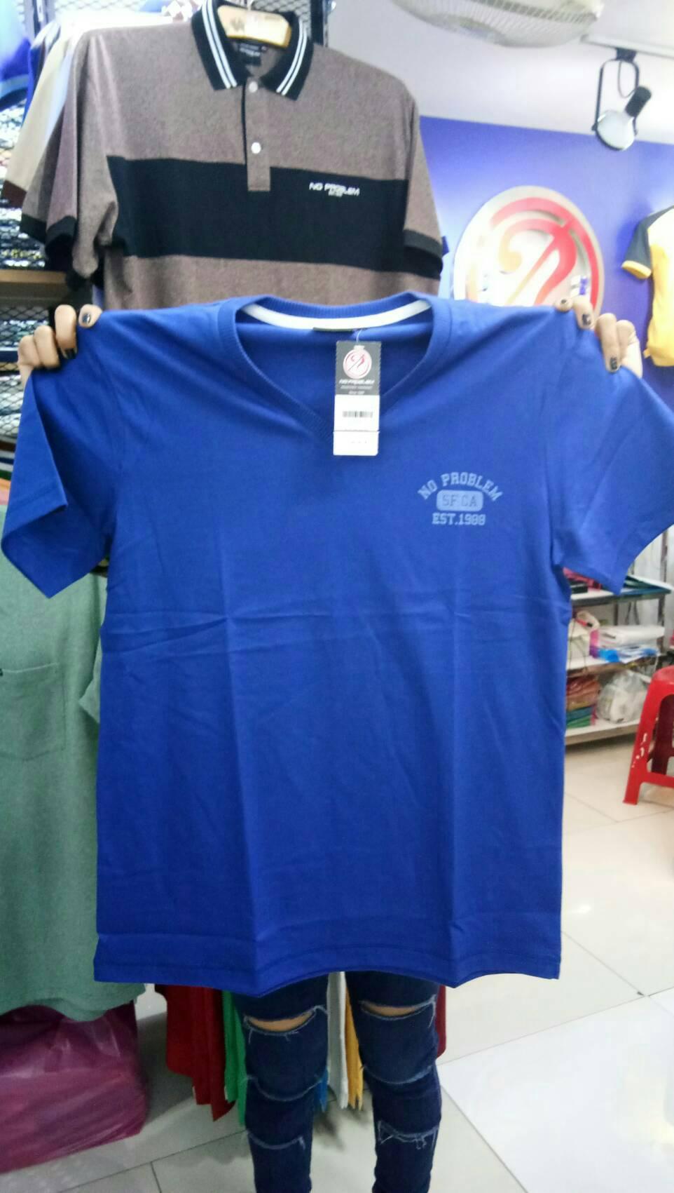 เสื้อยืดคอกลม สำหรับ ผู้ชายอ้วน 2XL 3XL 4XL รหัส NR60052