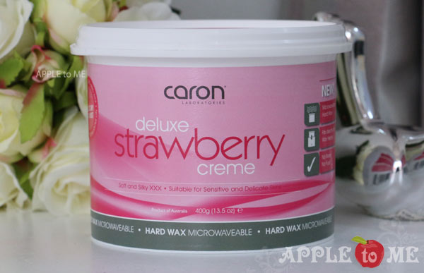ฮาร์ด แว็กซ์ Deluxe Strawberry Crème Hard Wax 400g