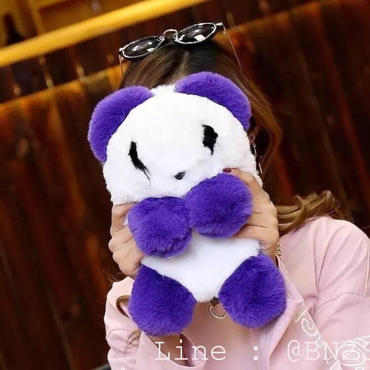 กระเป๋าเป้ น้องหมีแพนด้า ขนปุย น่ารักมากคะ