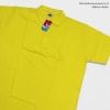 Basic Polo สี้เหลืองสด 2 3 4XL ผ้าจุติ