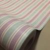 "Wallpaper Sticker วอลล์เปเปอร์แบบมีกาวในตัว ""Soft Pink Stripped with Gray Wood Grain"" หน้ากว้าง 1.22m ตัดขายตามความยาว เมตรละ 250 บาท"