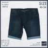 """กางเกงยีนส์ ขาสั้น ผู้ชายอ้วน Size 46""""-54"""" BIG SIZE #5910 (ผ้ายืด)"""