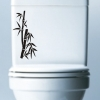 "DDS0006TL Toilet Sticker ""Bamboo"""
