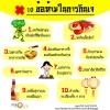 10 ข้อห้ามในการกินเจ