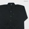 เสื้อสีพื้น ผ้า oxford 2XL , 3XL , 4XL , 5XL สีดำ