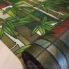 """สติ๊กเกอร์ฝ้าติดกระจกแบบมีกาวในตัว """"Green Bamboo"""" หน้ากว้าง 90 cm ตัดแบ่งขายเมตรละ 189 บาท ขั้นต่ำ 3m"""