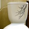 "Toilet Sticker ""Branch"" ขนาดซองบรรจุ 30 x 23 cm"