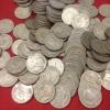 -ขาย เหรียญบาทครุฑ ปี 17 ผ่านการใช้ เดิมๆไม่ผ่านล้าง จำนวน 100 เหรียญ ขาย 4,700 บาทรวมส่ง(ขายแล้ว)