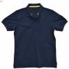 Basic Polo สีกรมท่า M-4XL (Changyim) ผ้าจุติ
