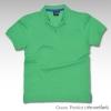 Basic Polo สีเขียวเพริโดต์ M-2XL ผ้าจุติ
