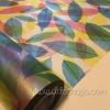 """สติ๊กเกอร์ติดกระจกแบบมีกาวในตัว """"ใบไม้ Colorful Leaf"""" ความสูง 90 cm ตัดแบ่งขายเมตรละ 189 บาท (ขั้นต่ำ 3m)"""