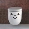 "Toilet Sticker สติ๊กเกอร์ติดสุขภัณฑ์ ""EMOTION II"""