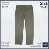 """40-48"""" กางเกงยีนส์ ขายาว BIGSIZE ทรงกระบอกเล็ก #6103 น้ำตาลอ่อน"""