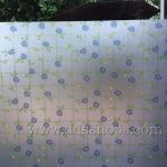 """PVC สุญญากาศติดกระจก หน้ากว้าง 90cm """"Green Vine with Flower"""" ตัดแบ่งขายเมตรละ 250 บาท"""