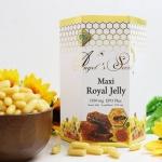 (แบ่งขาย 30 เม็ด) แบ่งออกจากขวด 365 เม็ด ใส่ขวดเล็กให้ นมผึ้งAngel's Secret Maxi1,650mg.6% ผสมน้ำมันอิฟนิ่ง พริมโรส ชนิดซอฟเจลสูตรพิเศษ เข้มข้นที่สุด ดูดซึมดีที่สุด ทานแล้วไม่อ้วน บำรุงผิวสวย สุขภาพดี ไม่แก่ไม่โทรม จากออสเตรเลีย