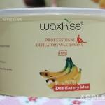 Strip wax กลิ่นกล้วย (แว๊กซ์ร้อน แบบใช้ผ้าดึง) แบรนด์ WAXKISS กระป๋อง 400 กรัม