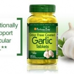 Puritan's Pride Garlic น้ำมันกระเทียม (Garlic oil) 100 เม็ด