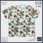 เสื้อยืดดอกไม้ (2) 2XL 3XL 4XL