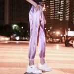 กางเกงวอร์มไหมเกาหลี Silky Pants